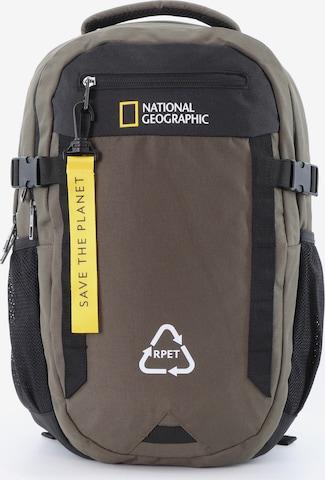 National Geographic Rucksack 'Natural' in Braun