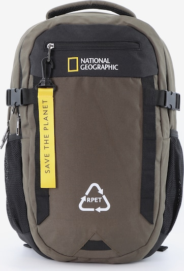 National Geographic Rucksack 'Natural' in khaki, Produktansicht
