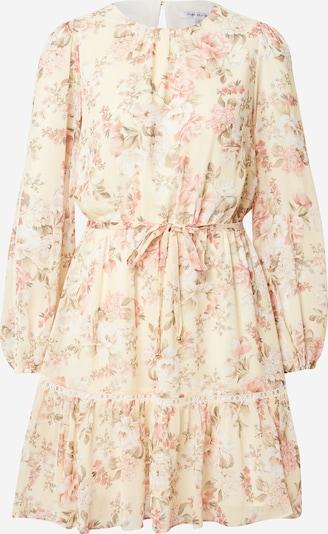 Rochie tip bluză 'KATIE' Forever New pe crem / galben pastel / verde iarbă / roz, Vizualizare produs