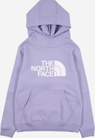 THE NORTH FACE Sweatshirt in Lila