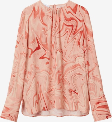 MANGO Blouse 'Janeiro' in Pink
