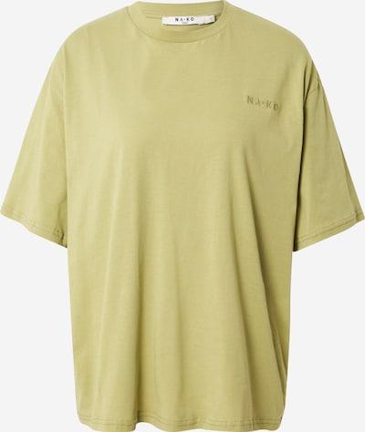 NA-KD T-Shirt in hellgrün, Produktansicht