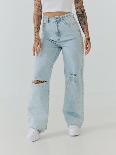 Jeans 'Havin' ABOUT YOU x Sharlota pe albastru denim, Vizualizare model