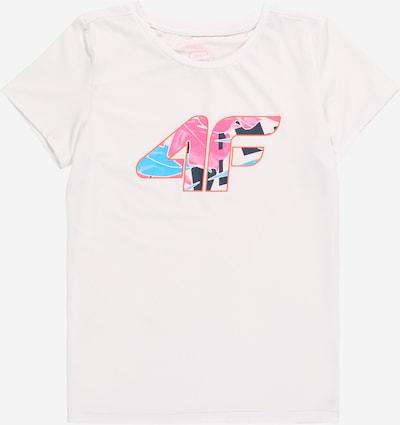 4F Toiminnallinen paita värissä yönsininen / vesi / vaaleanpunainen / valkoinen, Tuotenäkymä