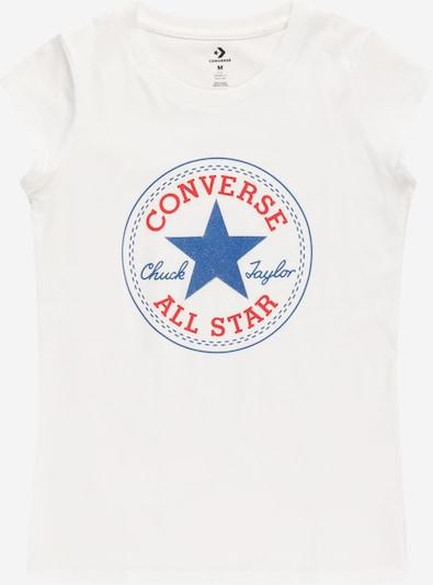 Maglietta CONVERSE di colore blu / rosso / bianco, Visualizzazione prodotti