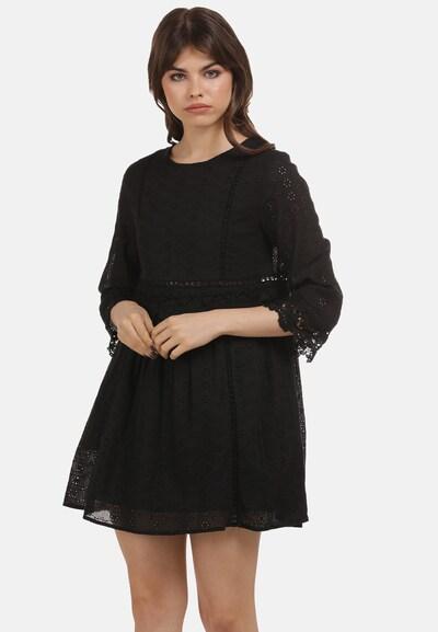 myMo ROCKS Kleid in schwarz, Modelansicht