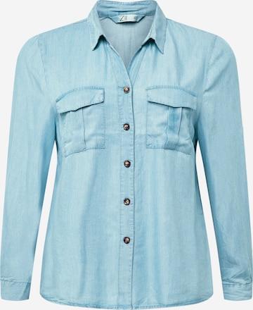 Z-One Bluse 'Lila' in Blau