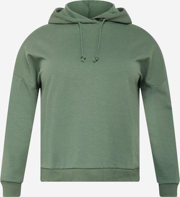 Vero Moda Curve Sweatshirt 'OCTAVIA' in Grün