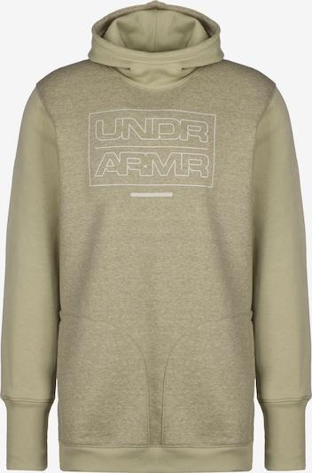 UNDER ARMOUR Sportsweatshirt in pastellgrün, Produktansicht