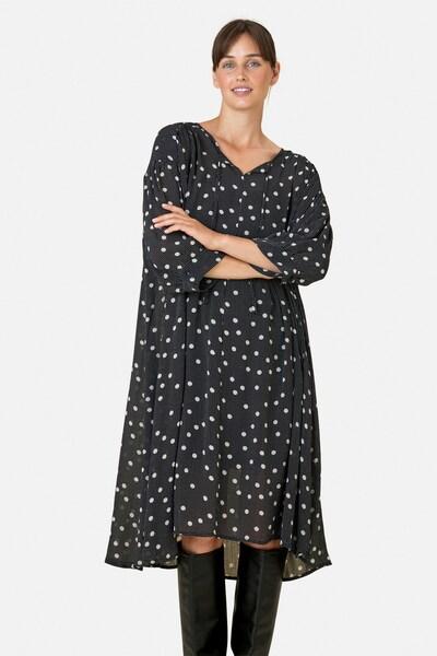 Masai Oversized jurk 'Ninki' in de kleur Zwart / Wit, Modelweergave