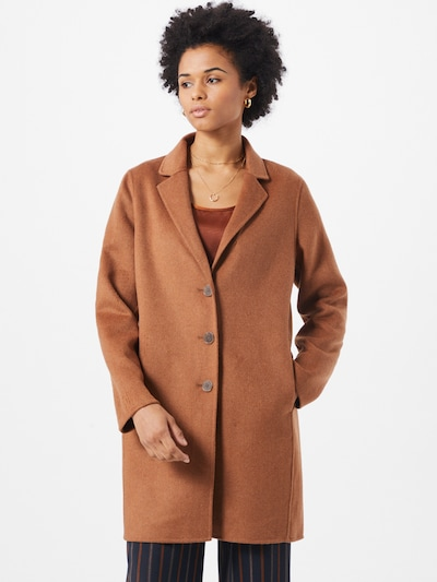 Banana Republic Mantel in camel, Modelansicht