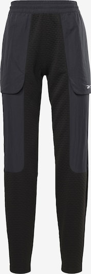 Reebok Sport Hose in dunkelblau / schwarz, Produktansicht