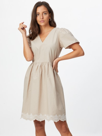 VILA Šaty 'Olga' - béžová, Model/ka