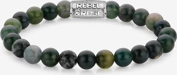 Rebel & Rose Armband in Grün