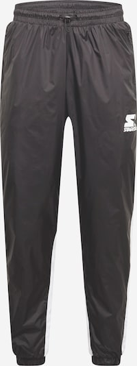 Pantaloni Starter Black Label pe negru / alb, Vizualizare produs