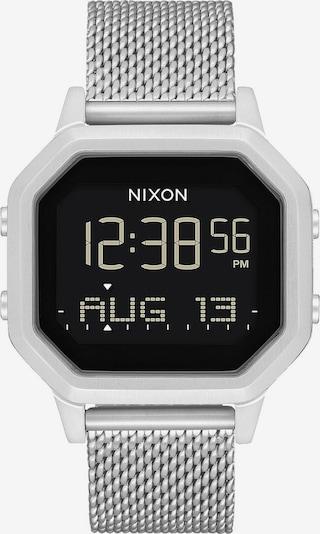 Nixon Digital klocka 'Siren Milanese' i svart / silver, Produktvy