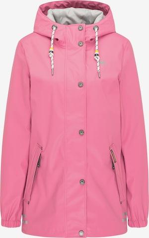 Schmuddelwedda Regenjacke in Pink