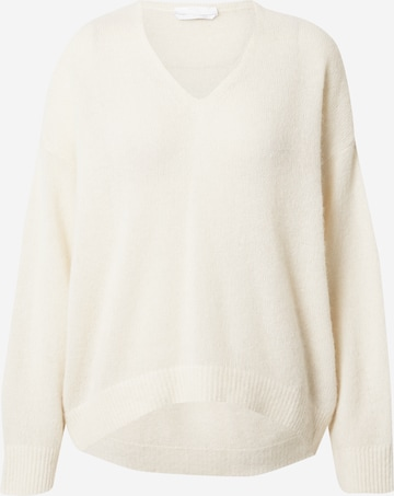 BOSS Casual Pullover in Weiß
