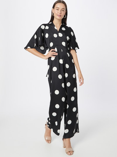 River Island Jumpsuit in Black / White, View model