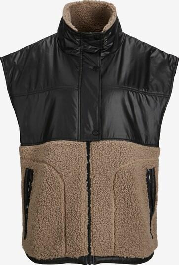 JJXX Weste 'Viola' in brokat / schwarz, Produktansicht