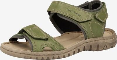 JOSEF SEIBEL Sandale in oliv, Produktansicht