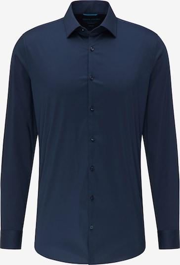 PIERRE CARDIN Basic Hemd 'futureflex' in dunkelblau, Produktansicht