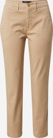 Lauren Ralph Lauren Pantalon chino 'GABBY' en beige, Vue avec produit