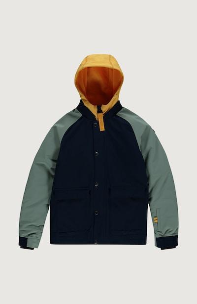O'NEILL Outdoorová bunda 'Decombe-Bomber' - modrá / žltá / zelená, Produkt