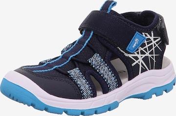 SUPERFIT Sandale 'Tornado' in Blau