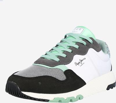 Sneaker low 'KOKO EASY' Pepe Jeans pe gri închis / mentă / negru / alb, Vizualizare produs