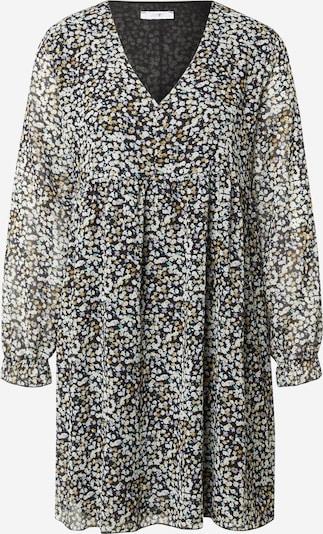 Hailys Kleid 'Silvia' in hellblau / gelb / schwarz, Produktansicht