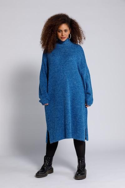 Studio Untold Robes en maille '749161' en bleu, Vue avec modèle