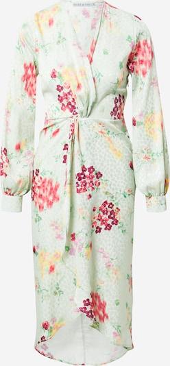 Hope & Ivy Kleid 'THE INES' in gelb / mint / pink / rot / weiß, Produktansicht