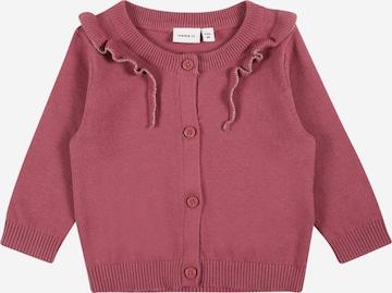 NAME IT Knit Cardigan 'Kirai' in Pink