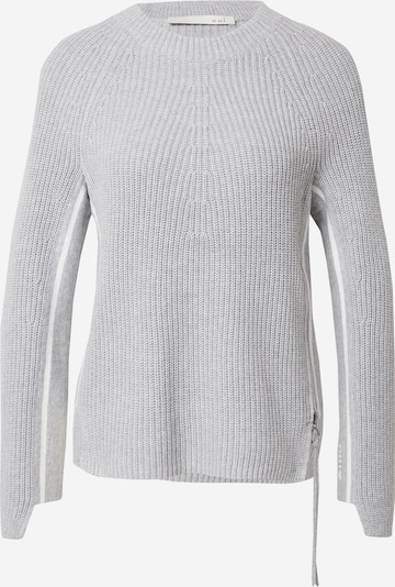 OUI Sweater in mottled grey / White, Item view