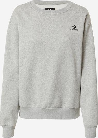 CONVERSE Sweatshirt in Grey / Black, Item view