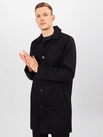 Palton de primăvară-toamnă Denim Project pe negru, Vizualizare model