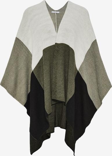 OPUS Cape 'Abordi' in khaki / schwarz / weiß, Produktansicht