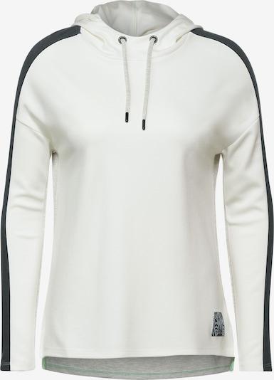 CECIL Sweatshirt in hellgrau / schwarz / weiß, Produktansicht