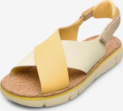 CAMPER Sandalen in beige / creme, Produktansicht
