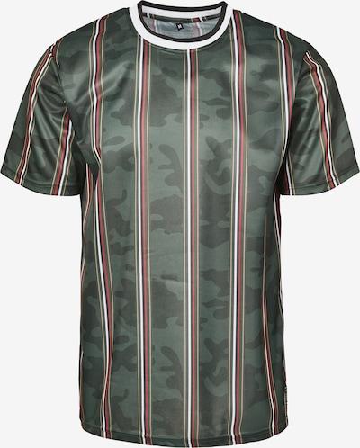 SOUTHPOLE T-Shirt en beige clair / kaki / rouge / noir / blanc: Vue de face