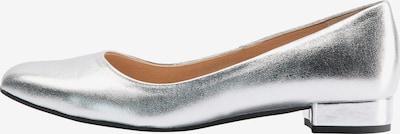 usha WHITE LABEL Ballerinas in silber, Produktansicht
