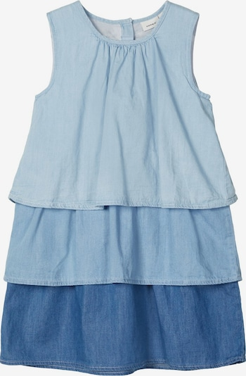 NAME IT Kleid in blue denim / pastellblau, Produktansicht