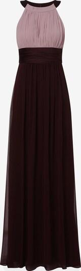 Marie Lund Kleid in braun / aubergine, Produktansicht