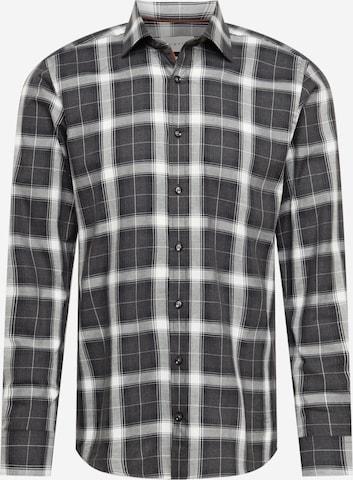 Camicia di bugatti in grigio