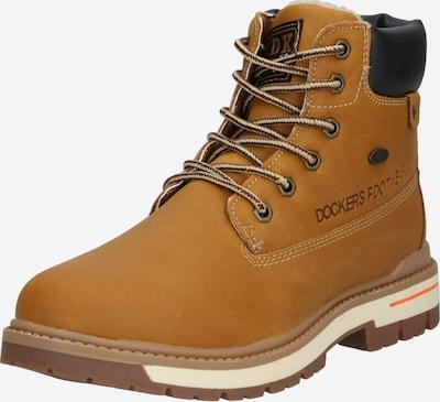 Auliniai batai su kulniuku iš Dockers by Gerli , spalva - medaus spalva / juoda, Prekių apžvalga
