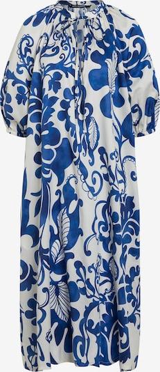 Ana Alcazar Jurk ' Daela ' in de kleur Royal blue/koningsblauw / Wit, Productweergave