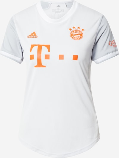 ADIDAS PERFORMANCE Tricot 'FC Bayern München 20/21' in de kleur Sinaasappel / Wit, Productweergave