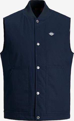 JACK & JONES Vest 'Jorandy' in Blue