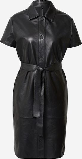 HUGO Obleka 'Lamias' | črna barva, Prikaz izdelka